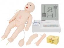 高级全功能新生儿模拟人(急救+护理)