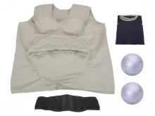 高级着装式孕妇行动体验装置模型
