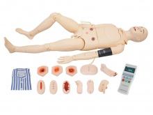 高级全功能护理训练人体模型(带血压测量)