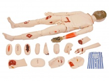 高级全功能创伤护理人模型