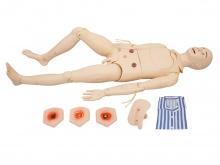 高级组合式基础护理训练模拟人(男\女性任选)