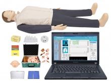 高级心肺复苏、创伤模拟人(计算机控制、二合一组合/有线版)