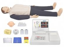 CPR心肺复苏急救模拟人模型(带实战考核功能)