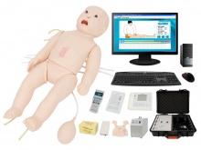 高智能数字化新生儿综合急救技能训练系统(ACLS高级生命支持、计算机控制)