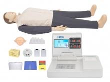 CPR急救培训模拟人模型(带心脏搏动显示)