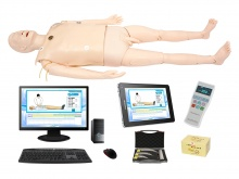 高智能数字化成人综合急救技能训练系统(计算机控制、无线版)