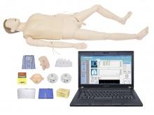 综合急救护理训练模拟人模型(急救、护理二合一/有线版)