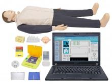 高级心肺复苏、AED除颤训练模拟人(计算机控制/有线版)