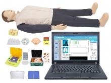 高级心肺复苏、创伤、AED除颤训练模拟人(计算机控制/有线版)