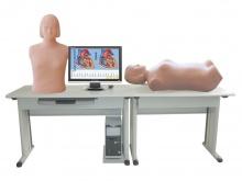网络版心肺听诊与腹部触诊仿真电子准化病人教学系统(教师机)